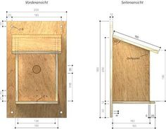 nichoirs pour oiseaux du jardin birdhouse nistkasten. Black Bedroom Furniture Sets. Home Design Ideas