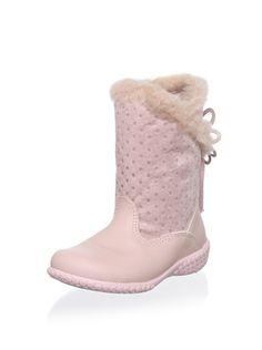 60% OFF Pampili Kid  s Back Tie Boot (Rosa Gloss) Kids 5f47b2d39