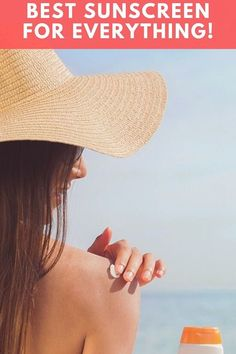 best sunscreen for everything! An exhaustive list of the best sunscreens for various skin conditions, sports, and environmental circumstances. Sunscreen For Sensitive Skin, Facial Sunscreen, Sun Tanning Tips, Spray Tan Tips, Chelsea Houska Hair, Sport Sunscreen, Summer Beauty Tips, Long Brown Hair, Long Hair