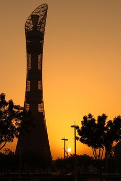 aspire tower, sports city, Doha Qatar   Photo by Said Aziz with Pin-It-Button on 500px