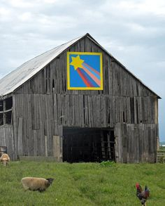 Barn Quilts and the American Quilt Trail: October 2011