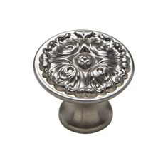 Knobware K-5073/45/ZN3/MN 1-1/8-Inch Muted Nickel French Gothic Knob Knobware http://www.amazon.com/dp/B005J5O8X6/ref=cm_sw_r_pi_dp_NJDIub0AE593P