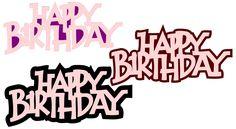 FREE SVG File - Happy Birthday