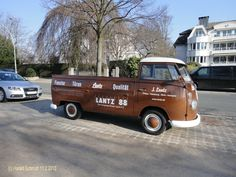 T1 VW Single cab pickup (Hamburg, Schöne Aussicht) Germany
