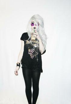 Shop this look on Kaleidoscope (sunglasses, shirt, pants, bracelet)  http://kalei.do/WSjGvh4r1dyXowXr
