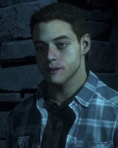 Rami Malek in PS4 Until Dawn Game
