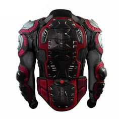 Motorcycle Motorbike Motocross Armor Racing Jacket Full Protector Gears Scoyco #Scoyco