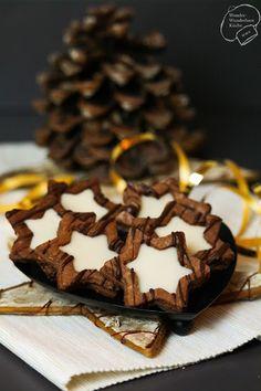 Wonder Wunderbare Küche: Eierlikör-Schoko-Sterne (Christmas Bake Cookies)