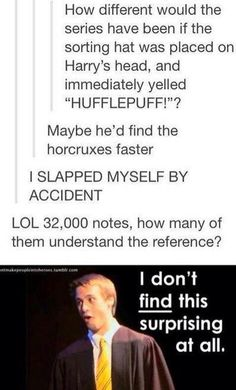 I still don't remember what the FINDING stuff came from in the musicals, but this is funny. :D