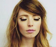 Delineado minimalista:   17 Formas de delinearte los ojos sin parecer un payaso