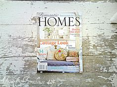 Romantic Homes Magazine. Always Love Romantic Homes. Romantic Homes, Design Your Home, Reading Material, Miniature Furniture, House And Home Magazine, Shabby Chic Style, Book Lists, Cottage Style, Dollhouse Miniatures