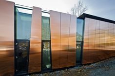 Metal sheet and panel for facade TECU® Bond by KME Italy S.p.A. - ARCHITECTURAL SOLUTIONS