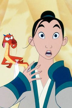 Disney is remaking its 1998 animated hit Mulan into a live-action film in the vein of Beauty and the Beast and Aladdin, and we're prepared for the new take on Disney Pixar, Disney Animation, Disney And Dreamworks, Animation Film, Disney Characters, Disney Princesses, Disney Nerd, Dreamworks Animation, Disney Frozen