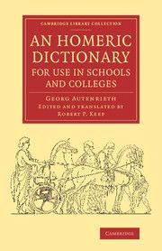The Greek of the Homeric epics is sufficiently different in both grammar and vocabulary from classical Attic Greek that it has always caused problems for students. This concise dictionary, compiled by German scholar Georg Autenrieth and published in English translation in 1877, has been a worldwide success since its first edition. Price $36.99