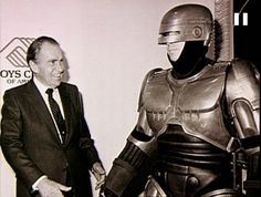Richard Nixon e Robocop