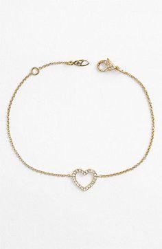Wear your heart. Nadri <3 Bracelet.