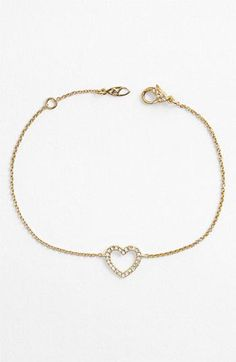 Wear your heart. Nadri <3 Bracelet.