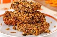 These crunchy carrot and seed flapjacks are as nutritious as they are delicious. Even better, this recipe only takes 25 mins to make and costs about 9p a slice.Get the recipe: Crunchy carrot and seed flapjacks