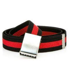 Pánsky pruhovaný čierno-červený opasok Belt, Accessories, Fashion, Belts, Moda, Fashion Styles, Fashion Illustrations, Jewelry Accessories