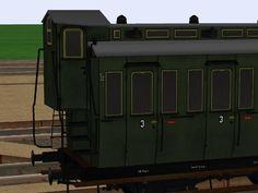 DRG Personenwagen 3. Klasse, Gattung - C3 pr06 - Set 1