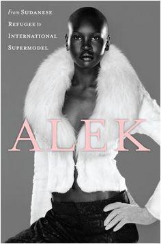 Alek Wek, South Sudanese British Supermodel.
