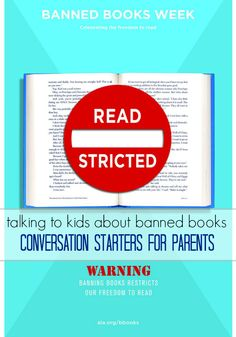 Talking to Kids About Banned Books: A Smart Conversation for Parents It's a tough conversation. Will you talk about it with your children?
