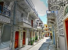 Chios, Beautiful Streets, Amazing Grace, Places To See, Greece, Island, World, Twitter, Greece Country