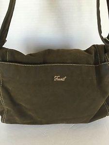 Fossil Messenger Crossbody Bag Olive Designer Fashion Hip Boho | eBay