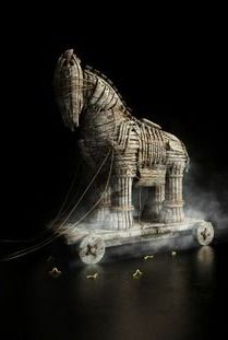 Trojan horse for Wired Italy Magazine June 2013 Troy Horse, City Of Troy, Italy Magazine, Set Design Theatre, Trojan War, Greek And Roman Mythology, Fantasy Pictures, France, Gods And Goddesses