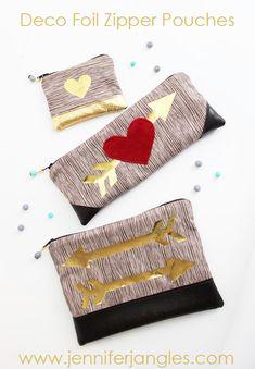 Deco Foil Heart Zipp