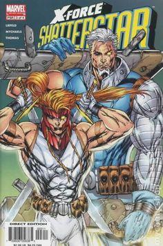 X-Force Shatterstar (2005) 3 Marvel Comic books modern age cover X-men Mutants