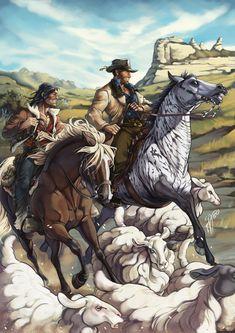 Red Dead Redemption 1, Red Dead Online, Read Dead, Rdr 2, Cowboy Art, Guache, Video Game Characters, Fantasy, Cultura Pop