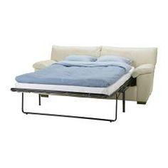 VRETA Sofa bed - Mjuk dark brown - IKEA