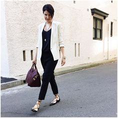 Good morning, if it wasn't for the white blazer, today's outfit would look like I'm wearing.... @liketoknow.it www.liketk.it/1Z55W #liketkit