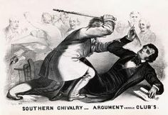 9 Key Events That Led to the American Civil War: Charles Sumner is Attacked by Preston on the Floor of the Senate