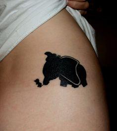 tatuajes peliculas dumbo