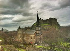 Edinburgh. Want to see the old town. Need to walk in Scotland.