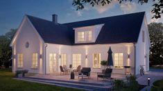 Bygga nytt sekelskifteshus? Hus i klassisk stil - Rörvikshus Style At Home, Self Build Houses, Small Buildings, Home Renovation, My Dream Home, Luxury Homes, Building A House, House Plans, Villa