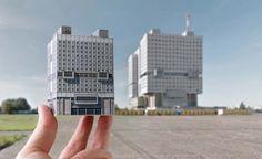 Zupagrafika lässt dich brutalistische Gebäude im Ostblock basteln  Der Brutalismus ist ein Stil in der modernen Architektur, der großen Wert auf klare Linien und pragmatische Elemente setzt. Auch wenn man die Bauwe...