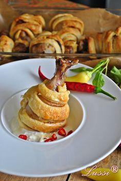 Lussi`s World of Artcraft: Облечени пилешки бутчета в тесто / Chicken drumsticks in puff pastry