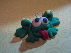 Polymer Clay Crazy Frog