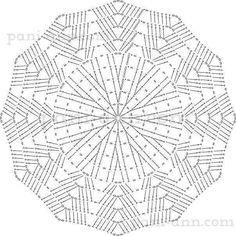 Tecendo Artes em Crochet: Toalhinha, Sousplat ou Tapete - Vocês decidem!