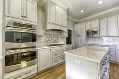 Agreeable Gray Cabinetry.  Classic and Timeless