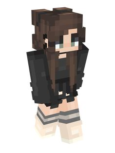 Minecraft Skins Cute, Minecraft Skins Aesthetic, Minecraft Houses, Minecraft Stuff, Minecraft Ideas, Mc Skins, Sims Games, Aesthetic Girl, Fun Crafts