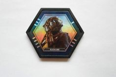 2015 TOPPS GALACTIC CONNECTIONS DISC FOIL ZUCKUSS ( UNCOMMON )