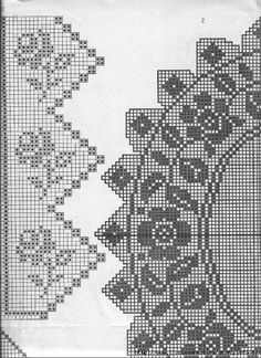 rose doily and edge