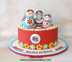 Russian Doll cake by Lulubelle's Bakes