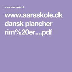 www.aarsskole.dk dansk plancher rim%20er....pdf