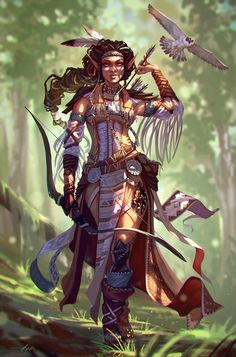 Fantasy Warrior, Fantasy Rpg, Fantasy Girl, Fantasy Artwork, Female Character Design, Character Design Inspiration, Character Concept, Character Art, Dungeons And Dragons Characters