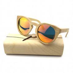 a4e1e96e0709 2016 New Model Women Handmade Bamboo Sunglasses Eyewear Eyeglasses Wooden  sunglasses